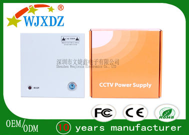 CCTV Screen 4 Channel AC DC Switch Mode Power Supply 5A 83% Efficiency