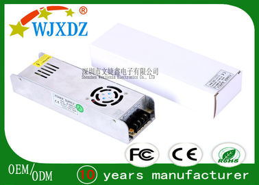 China Long Life Span 12V 360W Ultra Slim AC DC Switching Power Supply Digital Monitor factory